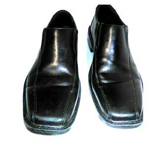 Bostonian Flexlite Black Leather Dress Shoes 12 M